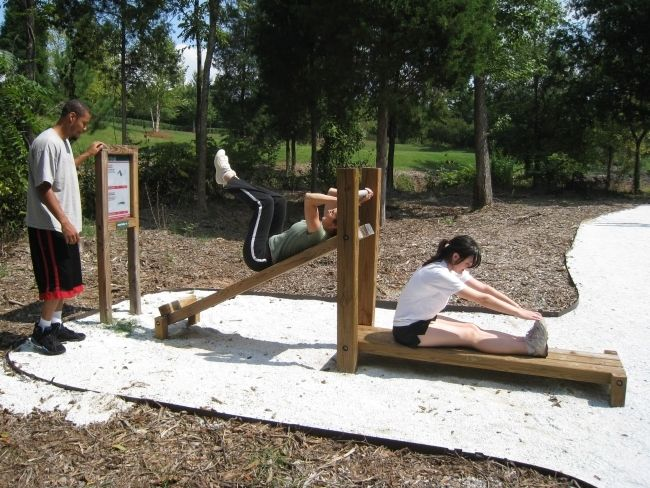 Outdoor Exercise Stations Fitness Trail Outdoor Fitness Equipment Outdoor Workouts