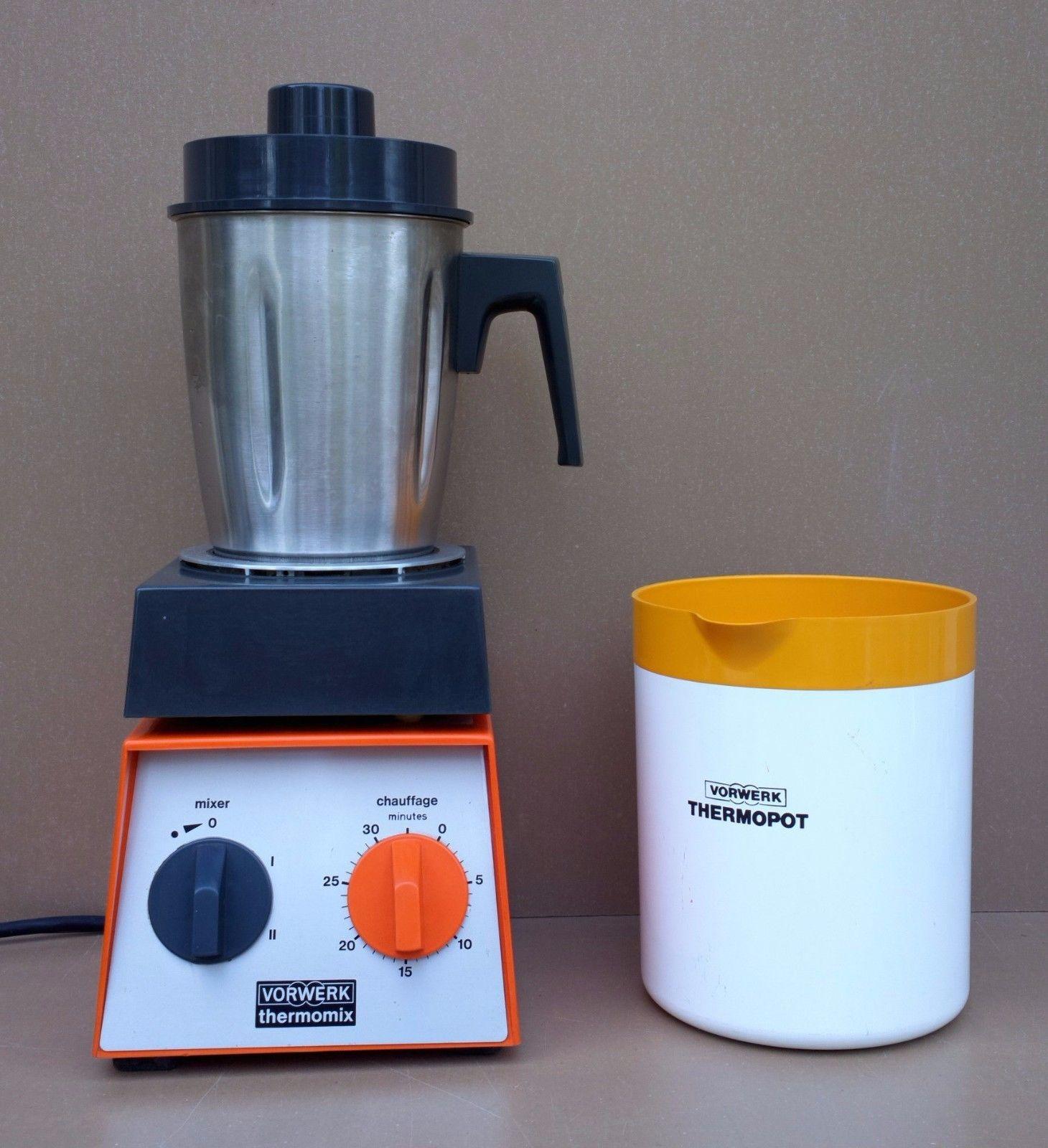 Details Sur Vorwerk Thermomix Tm 2000 Orange Mixer Chauffant