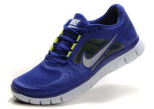 uk availability 8c649 54f5d Mens Nike Free Run 3 In Sapphier Blue