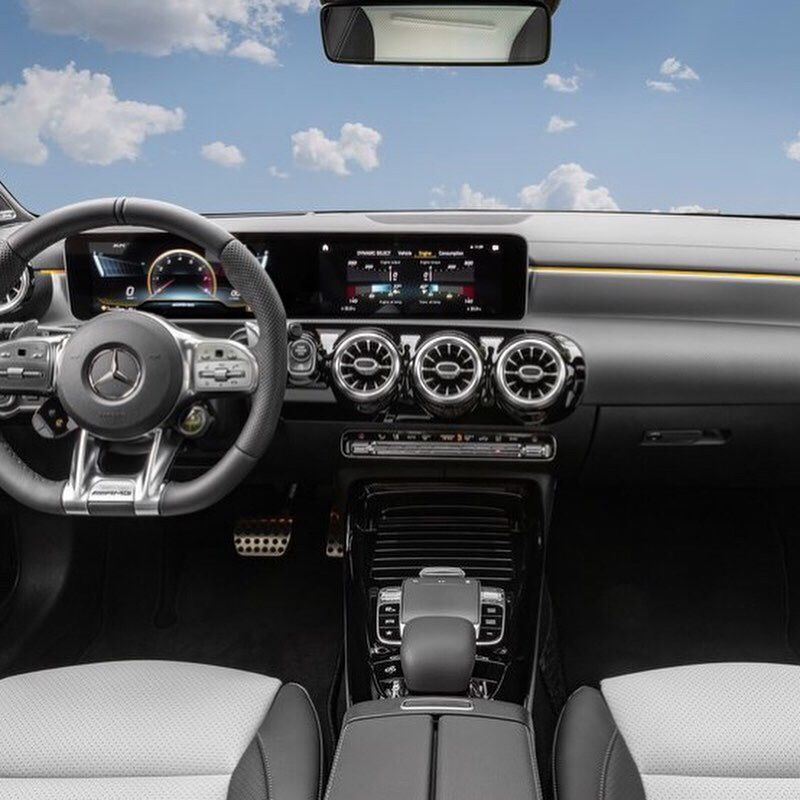 Mercedes Benz Cla 35 Amg Interior