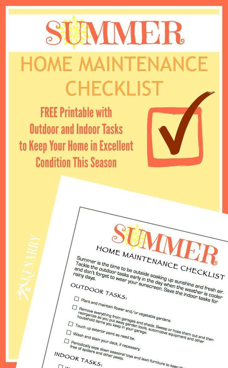 Photo of Checkliste für die Wartung des Sommerhauses: Kostenlos zum Ausdrucken