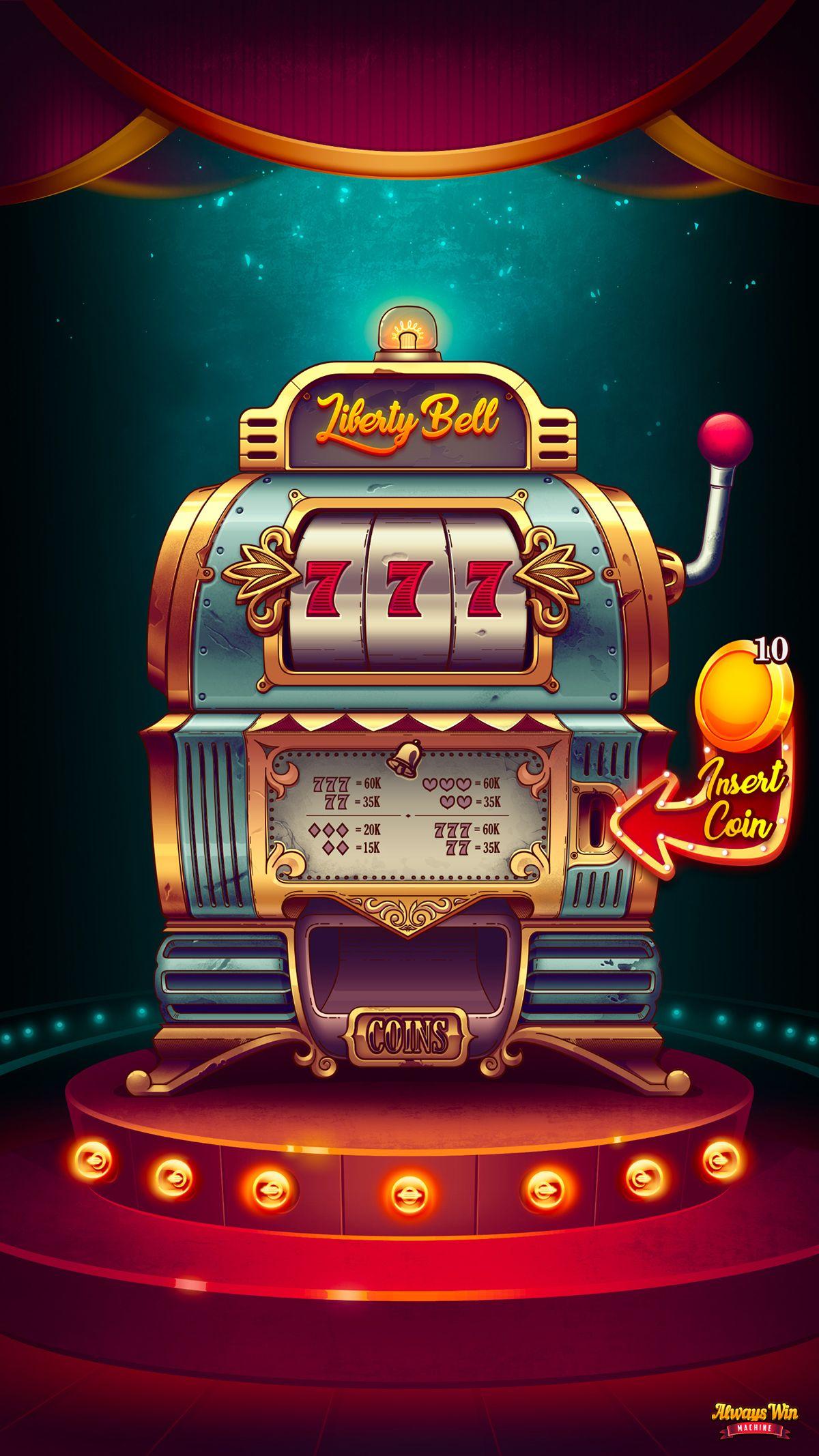 Always Win Machine on Behance - h5 in 2019 - Casino slot ...