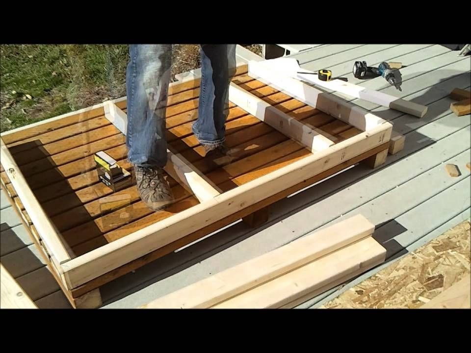 2-Shed Wall Framing - How to Build a Generator Enclosure ...