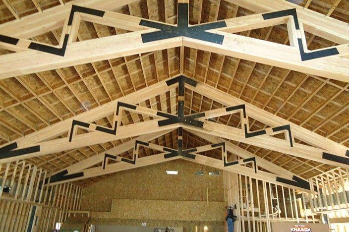 Engineered Wood I Joists For Floors And
