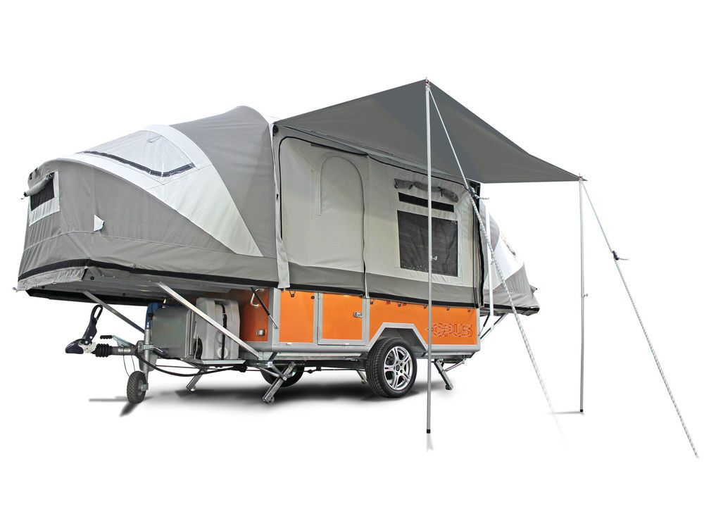 Opus Folding Camper Luxury Tent Trailer Off Road Ultra Lightweight Low Profile Trailer Tent Camping Trailer Folding Campers