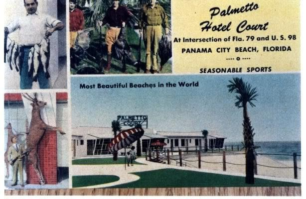 Palmetto Hotel Court At Intersection 79 And Us 98 Panama City Beach Florida