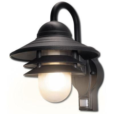 Newport Coastal Marina 110 Degree Outdoor Black Motion Sensing
