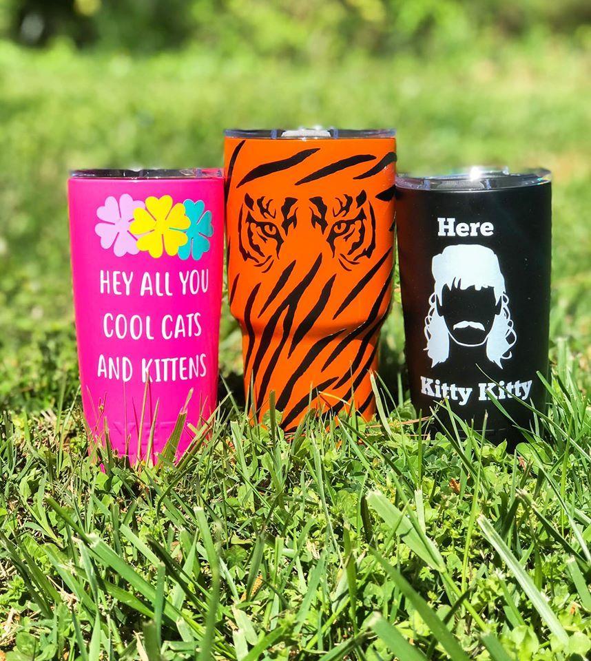 Tiger King Yeti Cups In 2020 Yeti Yeti Cup Colored Yeti