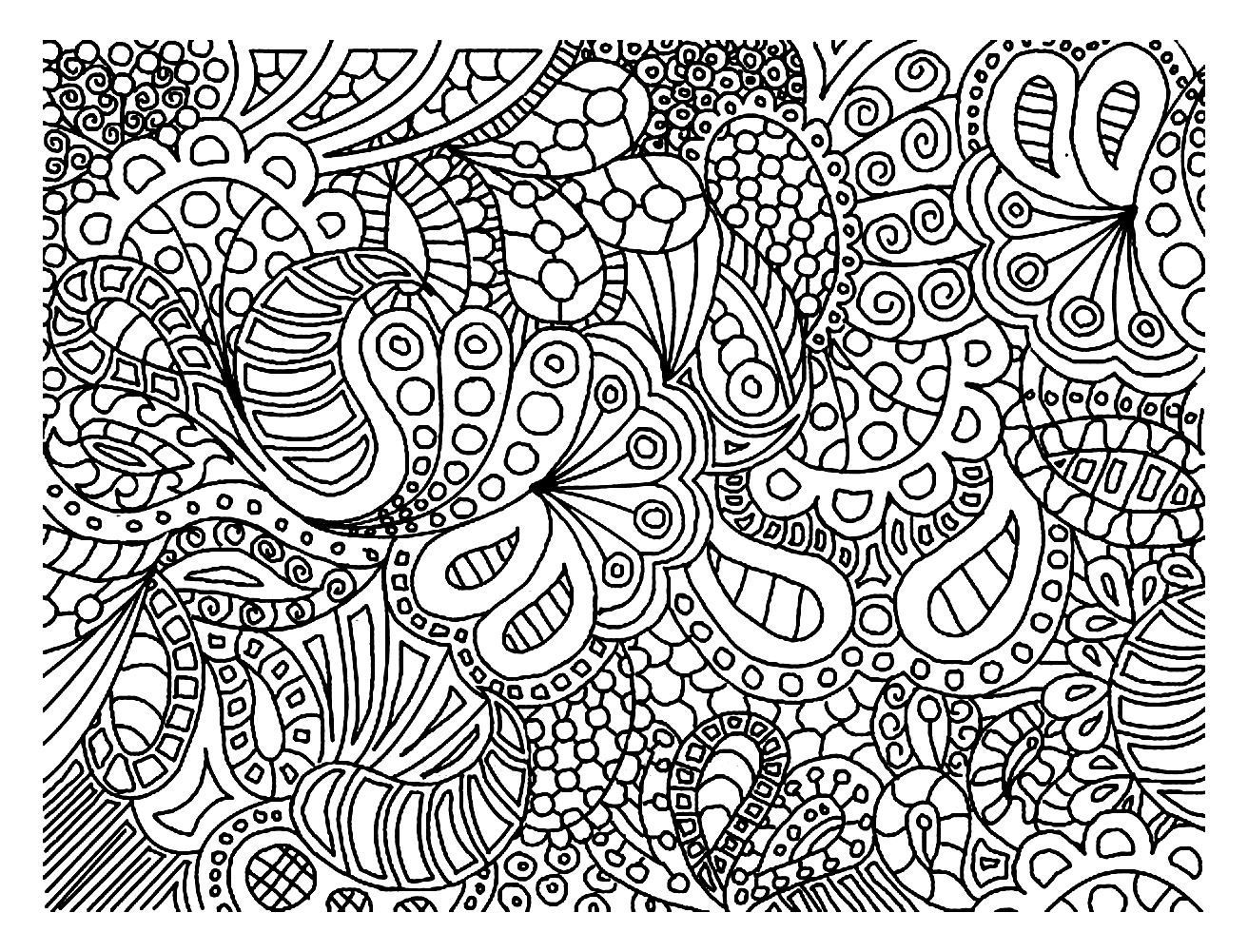 Free coloring page coloring-doodle-art-doodling-2. Doodling is ...