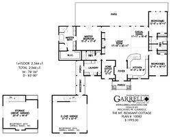 Mt. Pleasant Cottage House Plan | House Plans by Garrell Associates, Inc