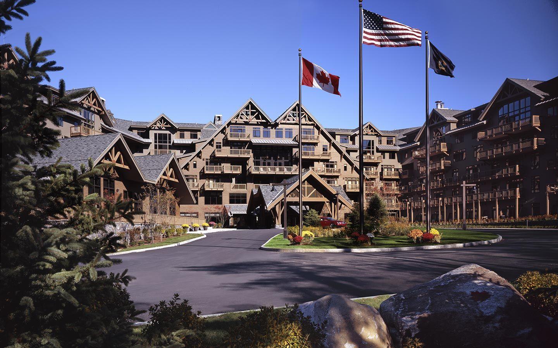 Luxury New England Resorts Stowe Mountain Lodge Overview Ski