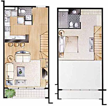 Loft São Paulo | 1 dormitório | Plantas | λοφτ | Pinterest | Planos ...