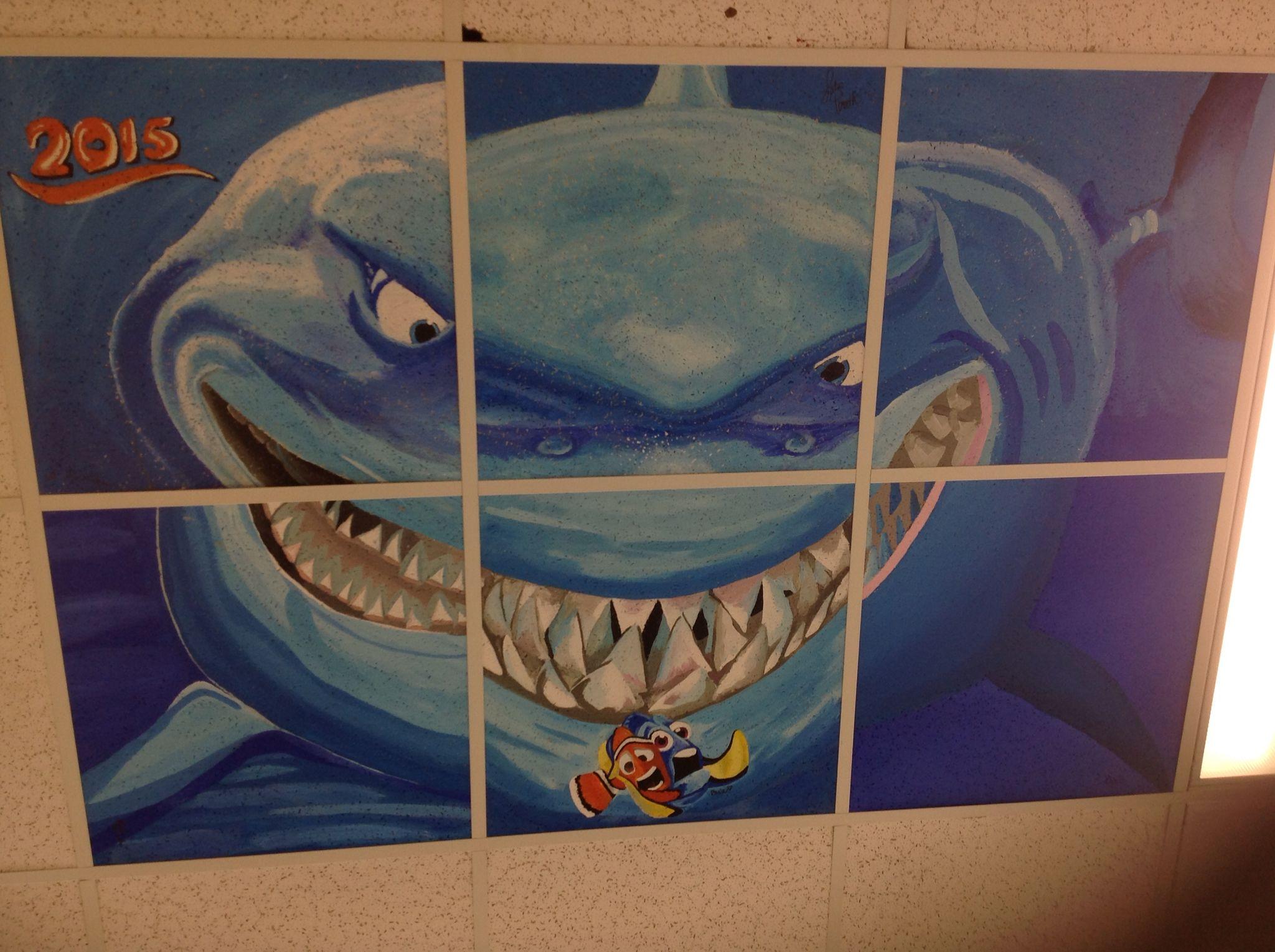 Ceiling tile mural art inspiration pinterest ceiling tiles ceiling tile mural dailygadgetfo Choice Image