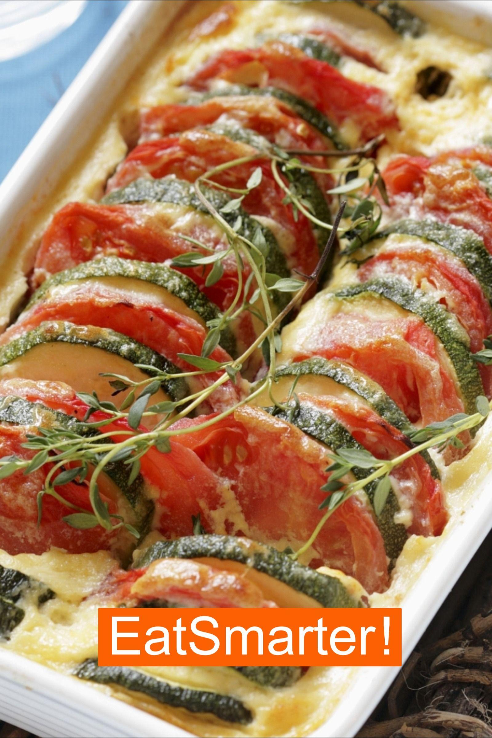 Tomaten-Zucchini-Auflauf | EAT SMARTER