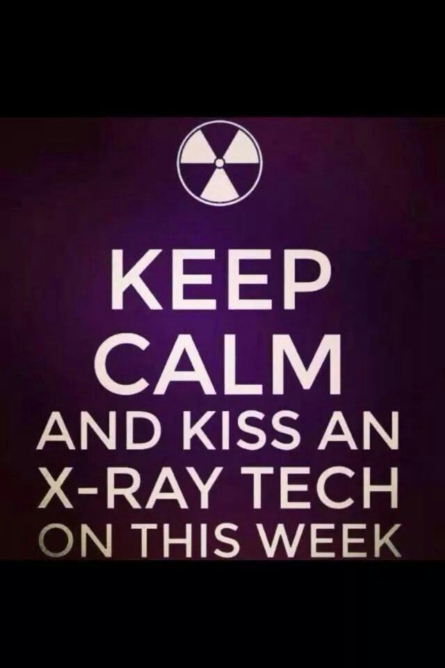 Smooches  Radiology    Rad Tech And Radiology