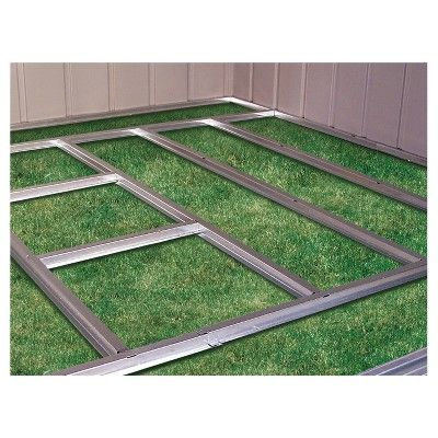 Euro Lite Pent Window Shed Floor Frame Kit 6x4 8x4 10x4 Arrow Storage Products Grey Shed Floor Pallet Shed Plans Diy Shed Plans