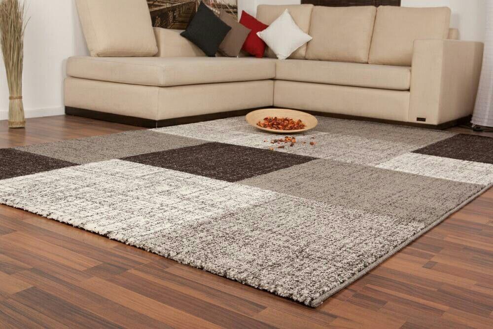 Patchwork Teppich im modernen Design #teppich #teppich-flor #home - wohnideen und lifestyle