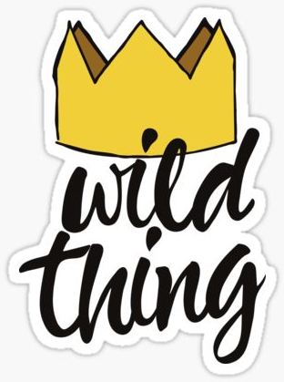 Https Www Redbubble Com Shop Where The Wild Things Are Stickers Digital Sticker Digital Journal Wild