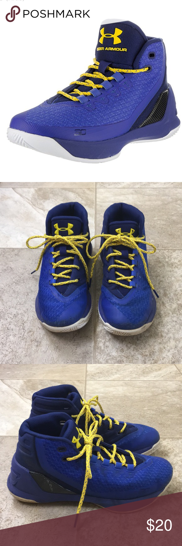 Under Armour Curry 3 Basketball Shoes 7396b41d2779