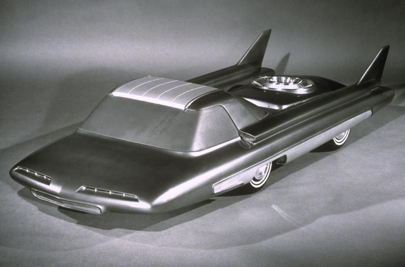 Ford Nucleon Concept Car Model 1958 Ultrafuture Pinterest