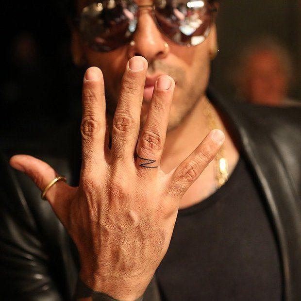 Zoey Tattoo Ideas: Lenny Kravitz Hand Tattoo Zoe