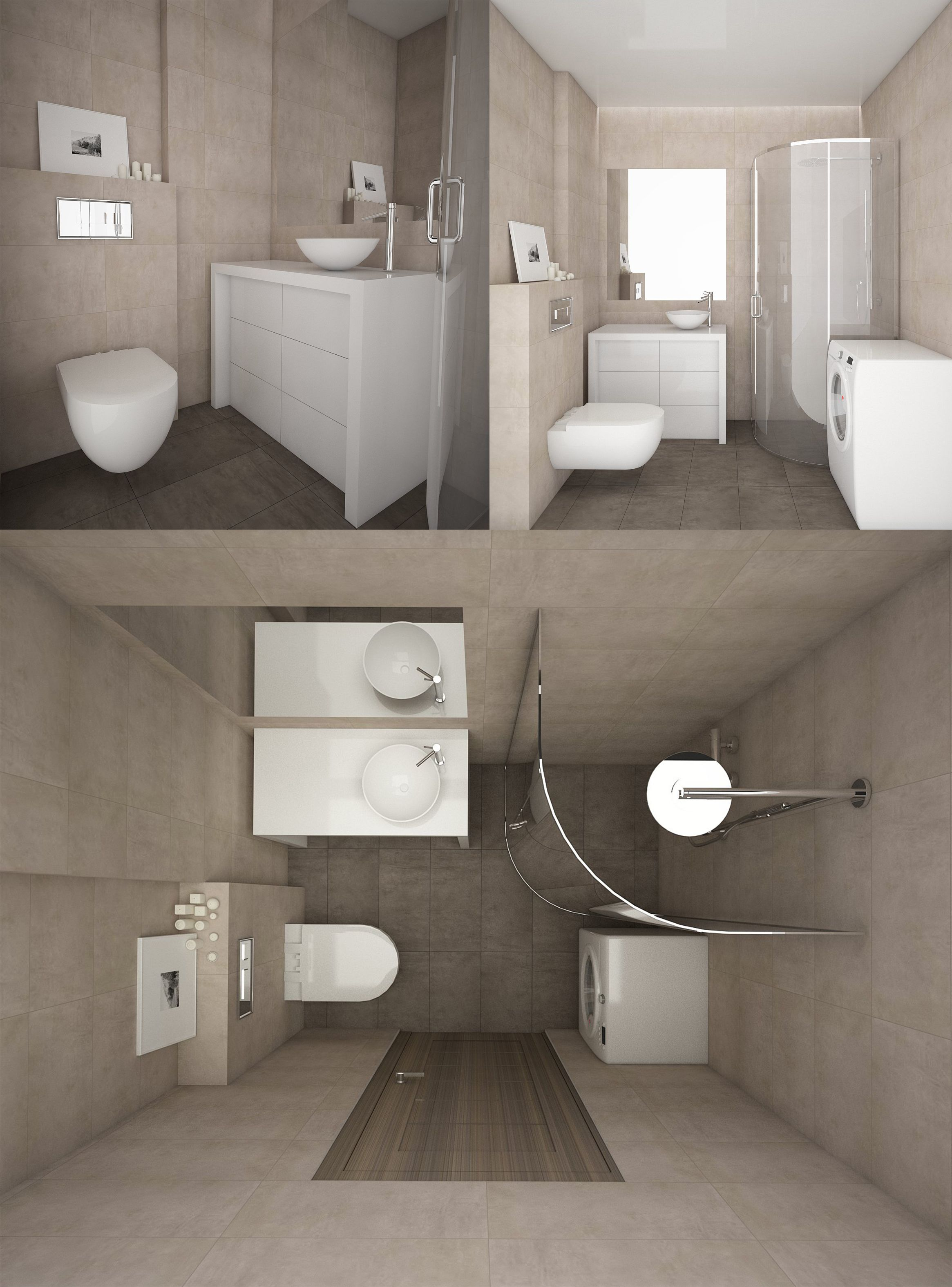 Bathroom Interior, Modern Bathrooms, Modern Bathroom