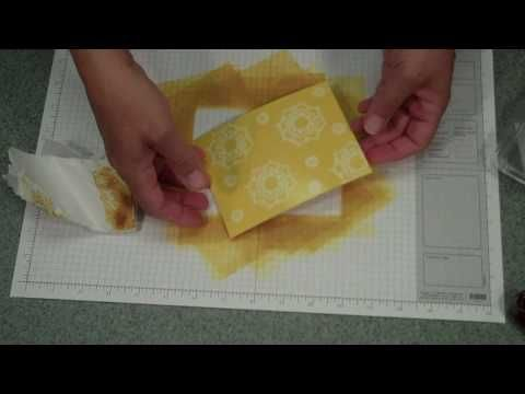 WATCH this #video on how to do  a background using versamark resist or also called Ghost #stampingtechnique  http://stampingwithbibiana.blogspot.com/