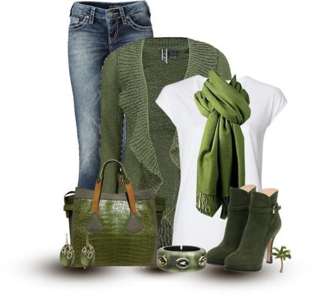 Green outfit sets... simply lovely