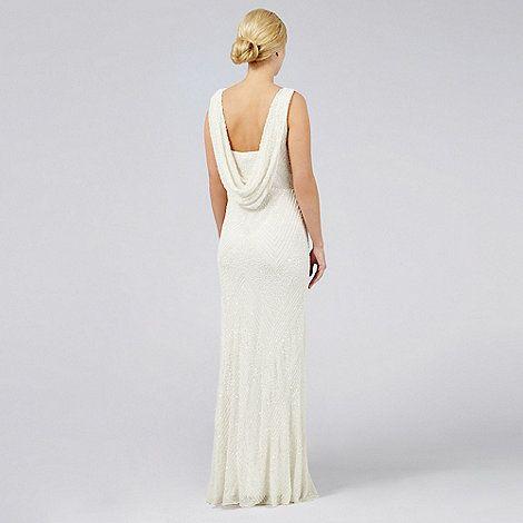 Debut Mia Beaded Bridal Dress Debenhams Wedding Dress Wedding Dresses Beaded Wedding Dresses