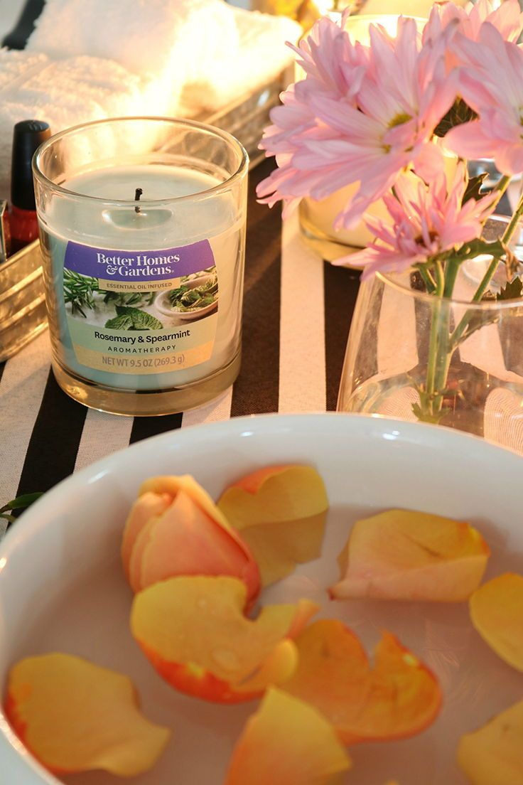 Better Homes & Gardens Scented Jar Candle, Rosemary and