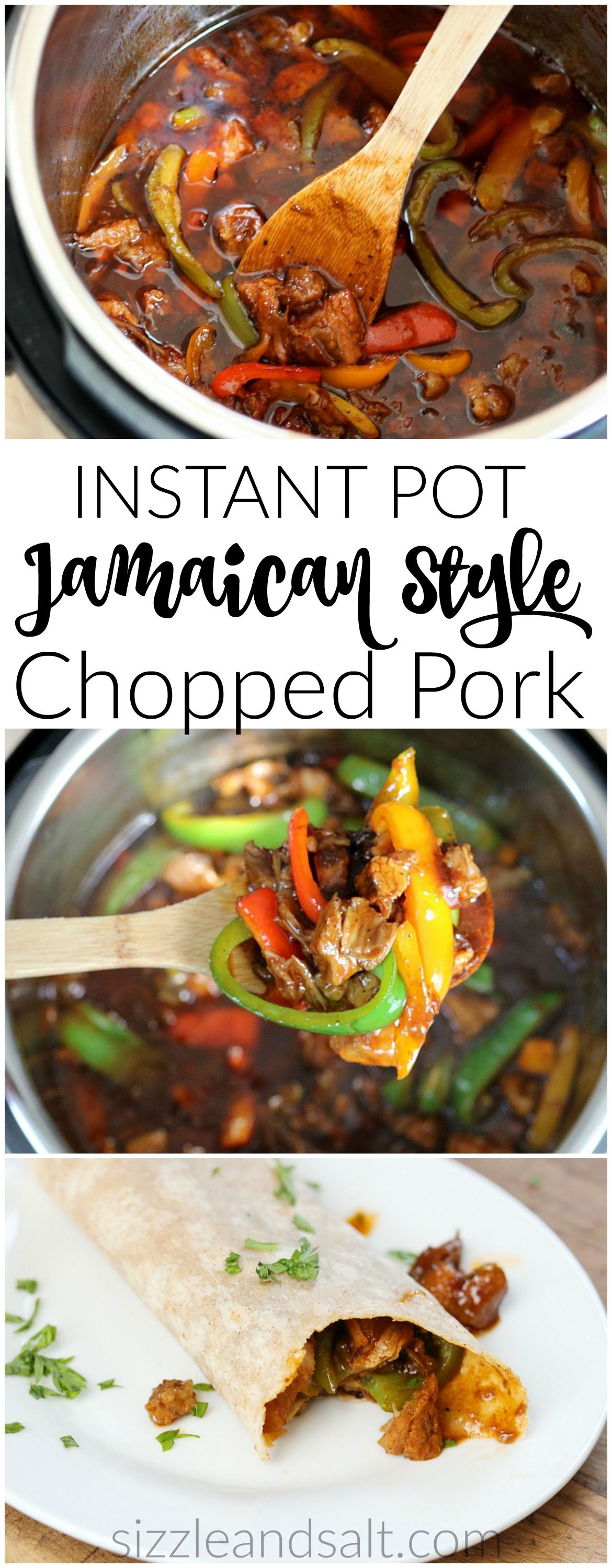 Photo of Instant Pot BBQ Pork- Jamaican Style in just