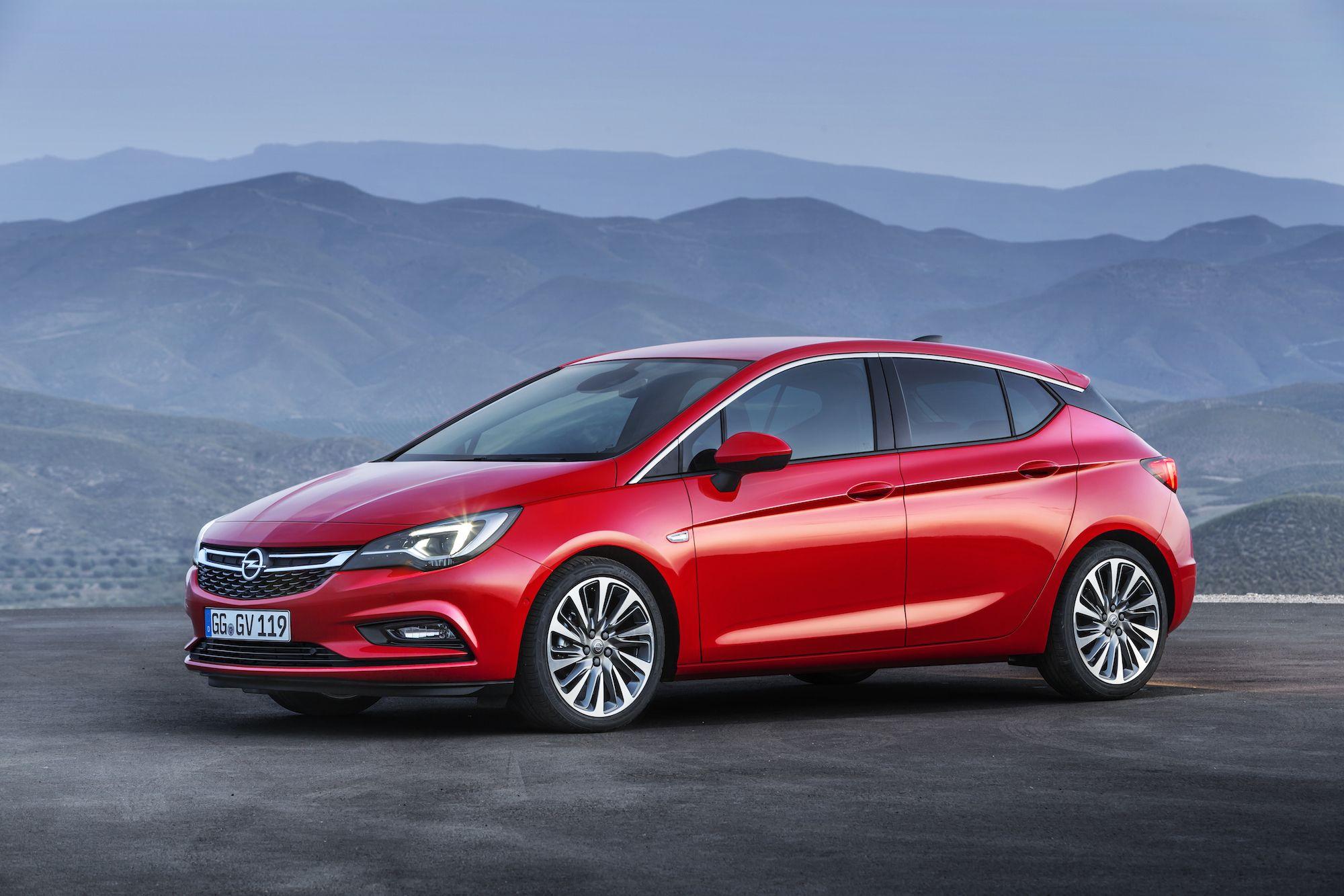 All New 2016 Opel Astra Revealed Ahead Of Frankfurt Motor Show Hatchback Opel New Cars