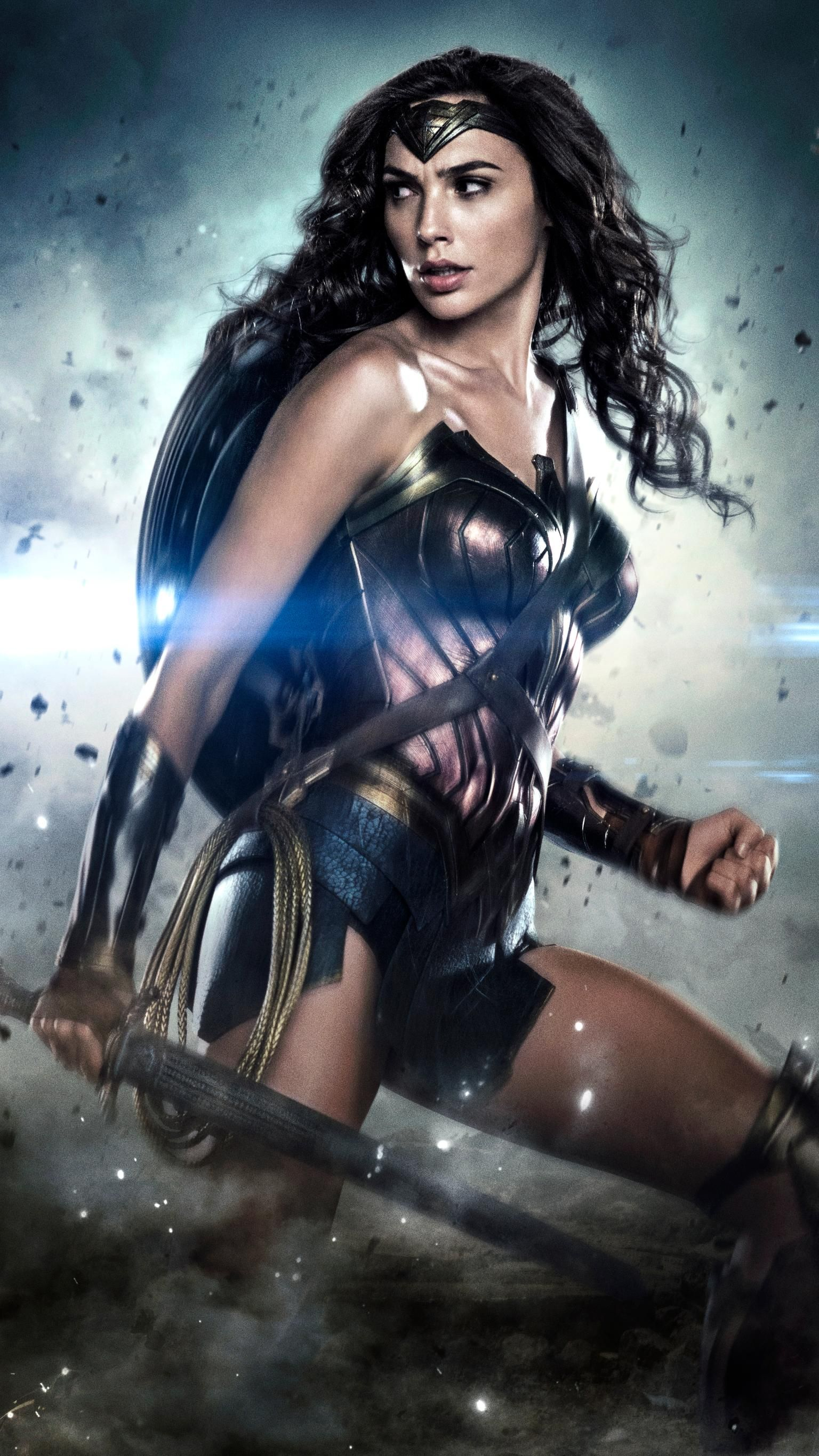 Wonder Woman 2017 Phone Wallpaper Wonder Woman Drawing Wonder
