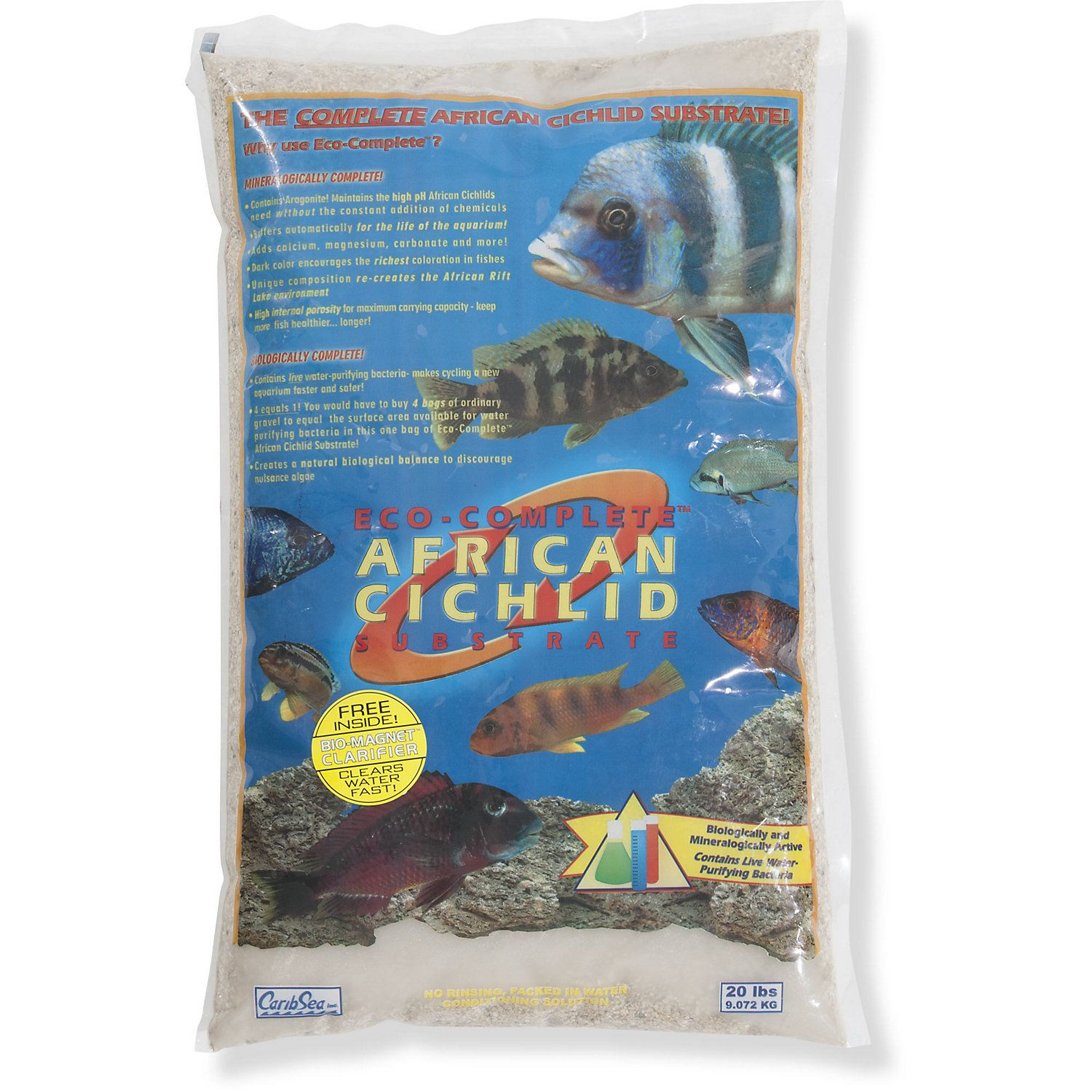 African Cichlid White Sand Substrate