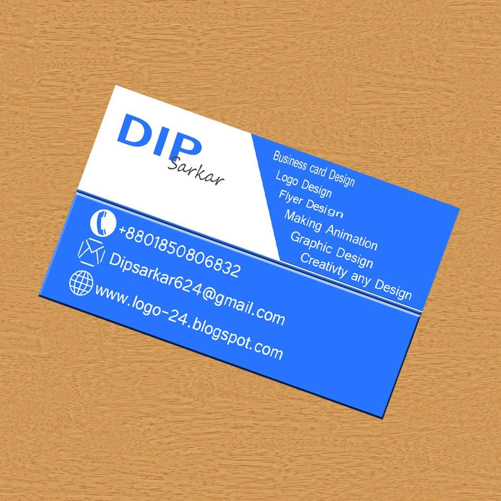 How to Make Professionally business card.with adobe Photoshop cc ...