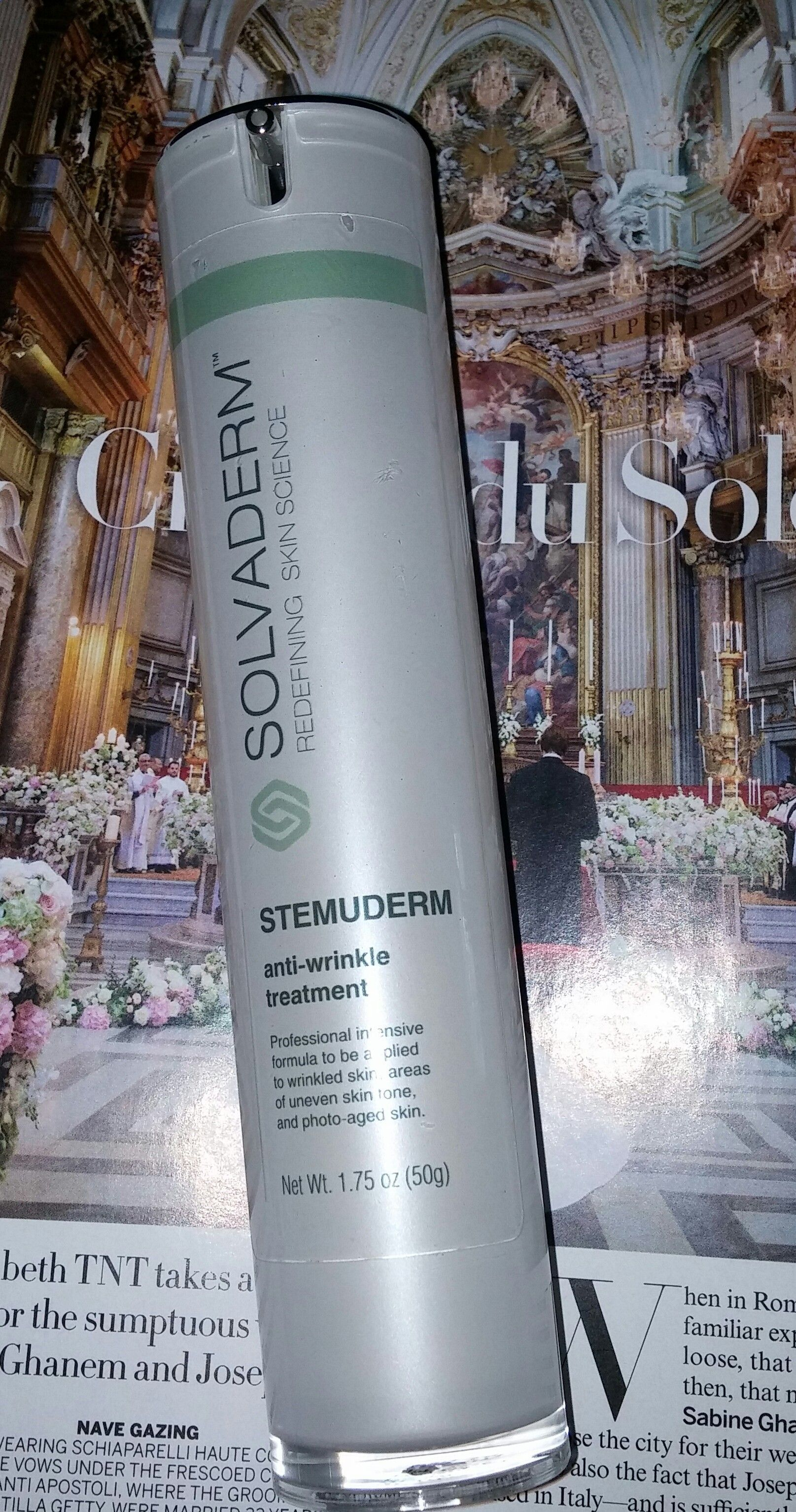Solvaderm Skincare Stemuderm Anti Wrinkle Treatment Review