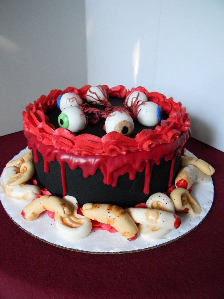 Creepy realistic cakes are not for the faint of heart