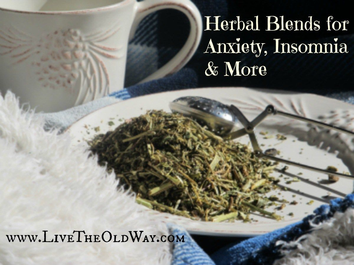 Chinese herbs tea stress anxiety - Herbal Blends For Anxiety Insomnia And More