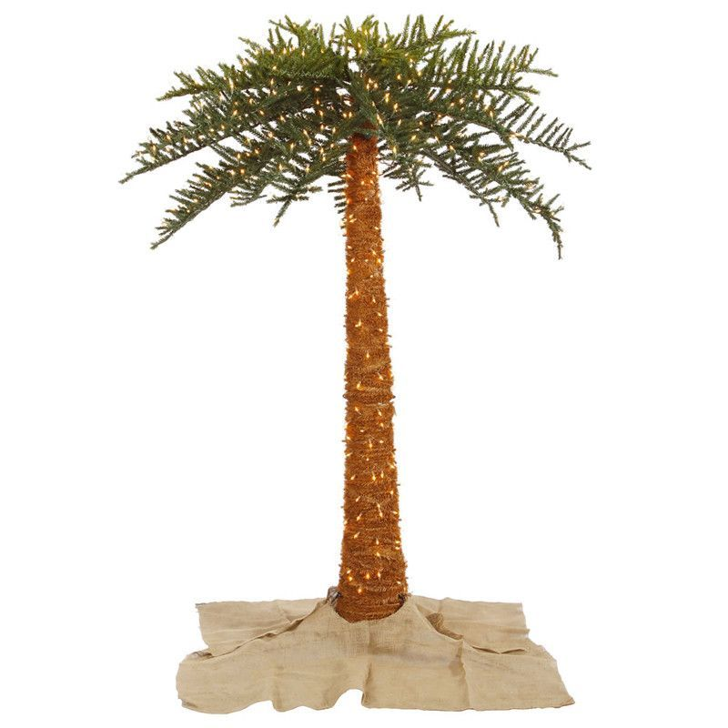 Vickerman K129361 6\u0027 Outdoor UV Royal Palm Tree 500CL 674T