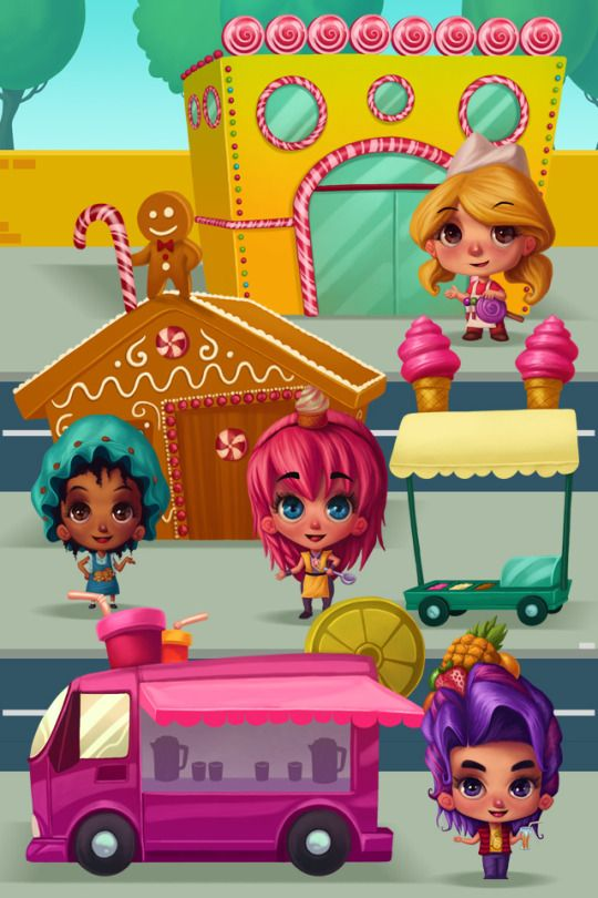 Check out the link to see how kids favorite cooking game Candy City Fun was  created