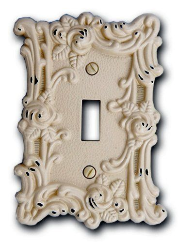Amerelle Wall Plates Classy Amerelle 60Taw Provincial Toggle Wallplate Antique White Http Review
