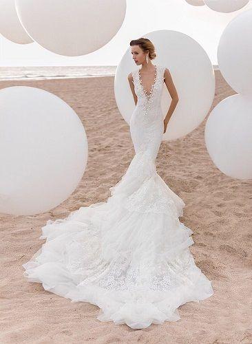 f1158228a650 abito sposa sirena 2016 foto
