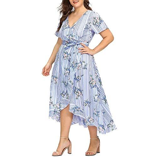 1abac672a5b AMSKY Maxi Dress Floral Women