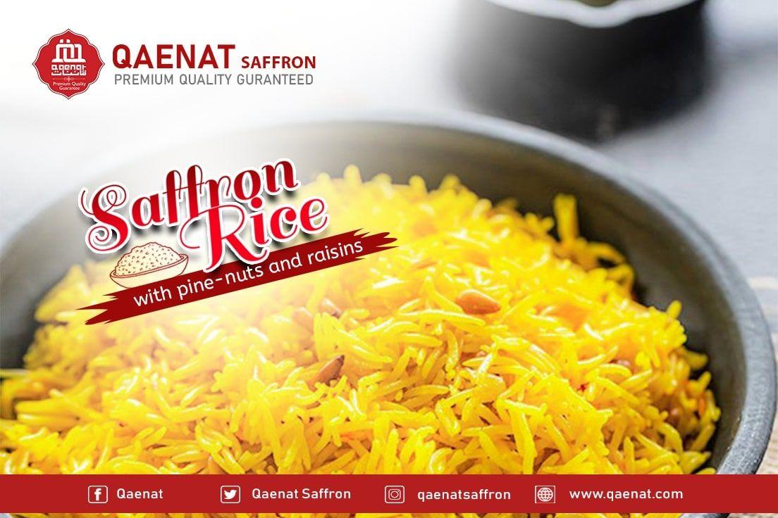 Saffron Rice With Pine Nuts And Raisins Saffron Rice Recipe Steps Rice