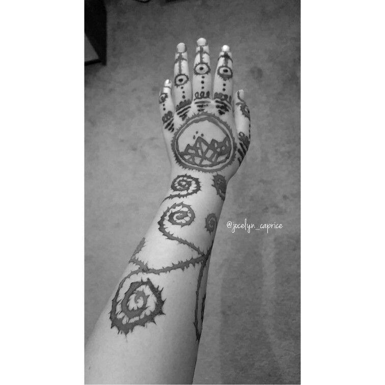 Feyre S Tattoo Part 2 Feyre Acotar Acomaf Rhysand Nightcourt