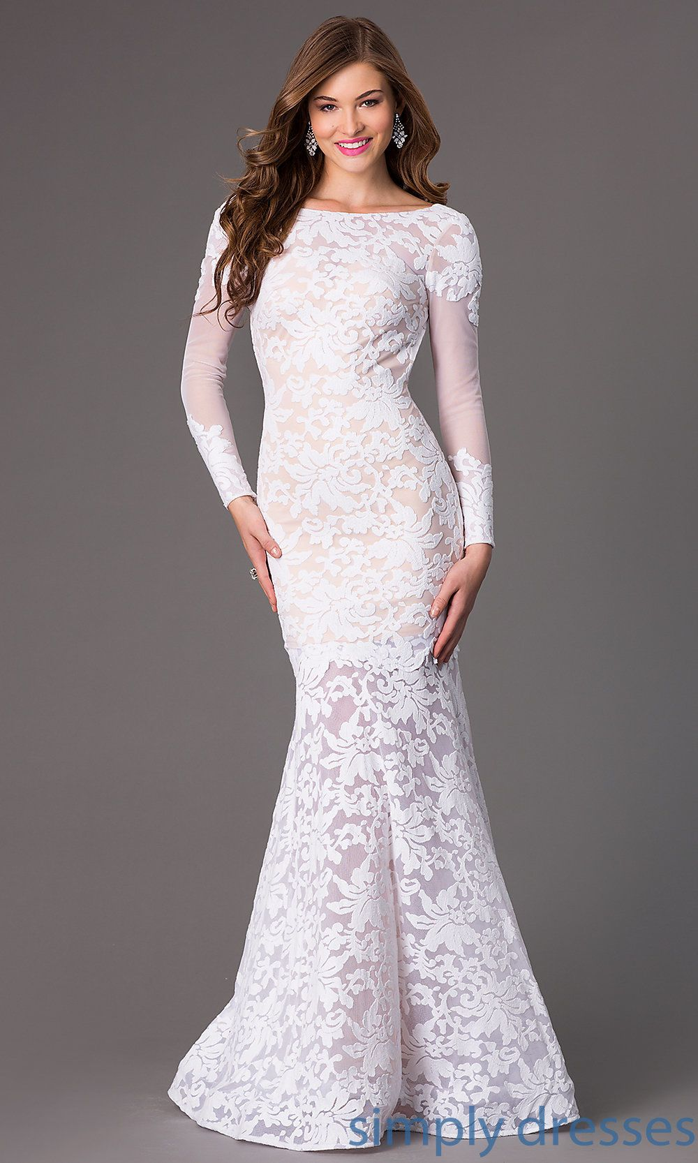 Xt open back lace mermaid gown by xtreme lace