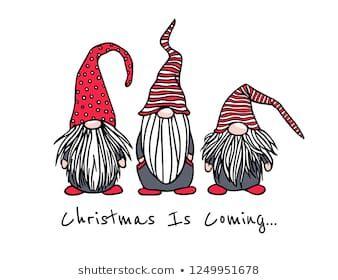 Weihnachtskarte mit handgezeichnet süßen Geschichten in Stock-Vektorgrafik (Lizenzfrei) 1249951678