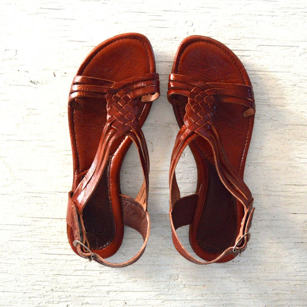Huaraches handmade by artisans in Mexico from Leon ...