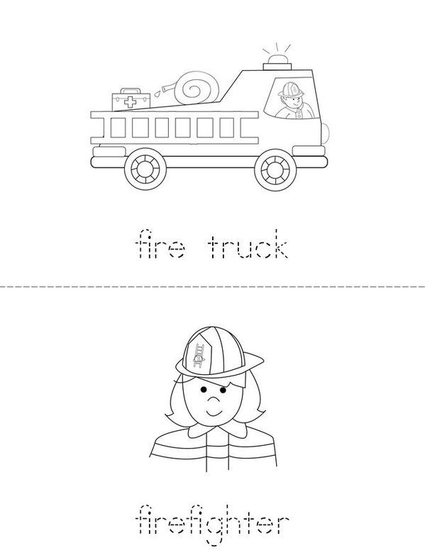 fire safety words beginning readers book twisty noodle pre k Fire Prevention Word fire safety words beginning readers book twisty noodle