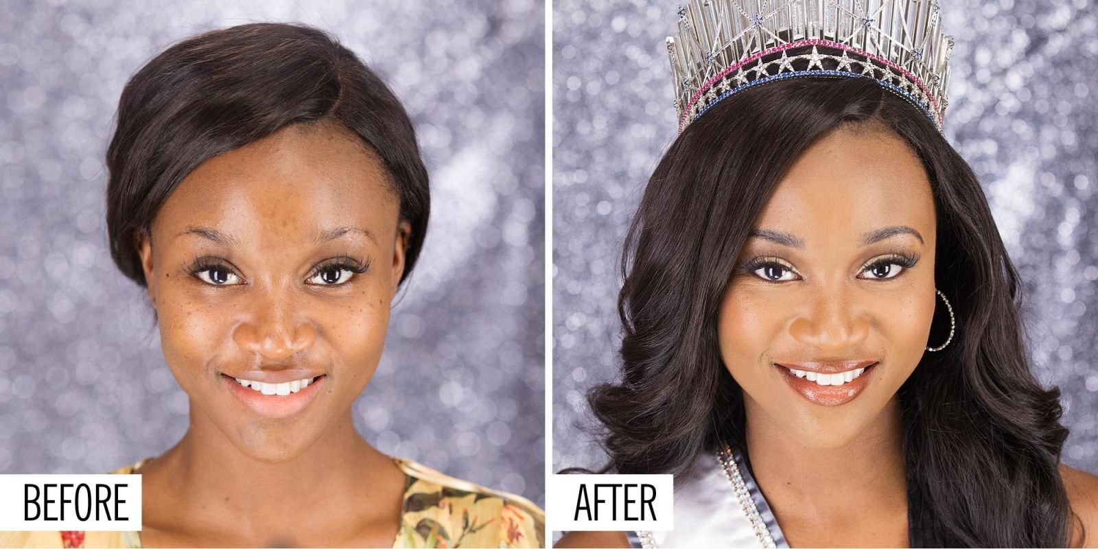 Watch Miss USA Deshauna Barber Go From No Makeup to Full